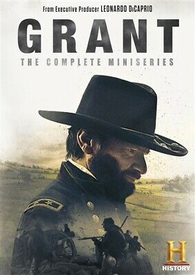 GRANT COMPLETE 3 PART TV MINISERIES New DVD History Channel Ulysses Civil War