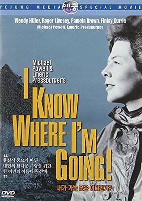 I Know Where Im Going   1945  New Sealed Dvd Wendy Hiller