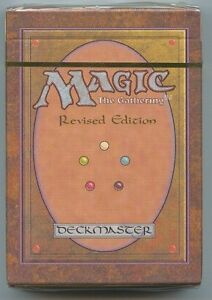 MTG Magic the Gathering 3rd Edition Revised Starter Deck NEW Factory Sealed