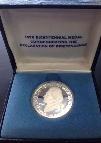 1976 Bicentennial Commemorative Medal Ebay