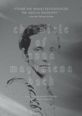 Chronicle Of Anna Magdalena Bach (DVD New)