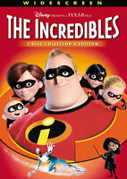 The incredibles DVD - 2 disk edition