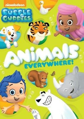 Bubble Guppies: Animals Everywhere! [New DVD] Full Frame, Sensormatic - Bubble Guppies Movie