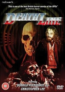 Deathline - Uncut DVD NEW & SEALED - Donald Pleasence, Christopher Lee