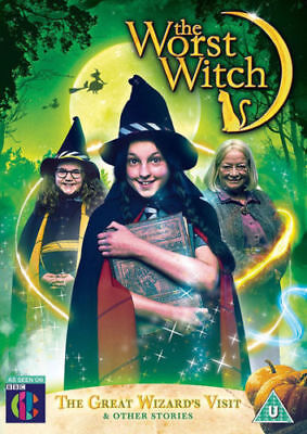 The Worst Witch: The Great Wizard's Visit & Other Stories DVD Kids Halloween - Kid Halloween Movies 2017