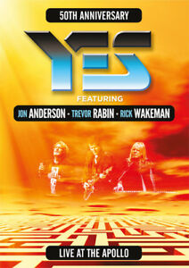 Yes: Live at the Apollo DVD (2018) Yes ***NEW***