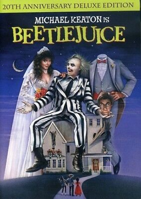 Beetlejuice [New DVD] Anniversary Edition, Deluxe Edition, Dolby, Dubbed, O-Ca