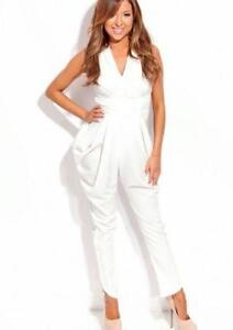 Women White Jumpsuit Photo Album - Reikian