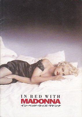 IN BED WITH MADONNA JAPAN MOVIE PROGRAM BOOK 1991