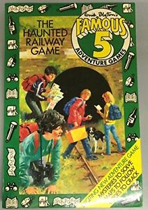 The Haunted Railway Game (Famous Five Adventure Games) By Enid Blyton, Stephen