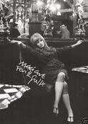 Marianne Faithfull Signed