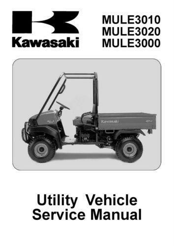 kawasaki mule 3000 ebay. Black Bedroom Furniture Sets. Home Design Ideas