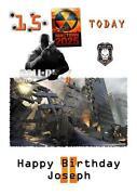 Call of Duty Birthday Card