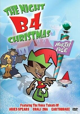The Night B4 Christmas (DVD, Animated, 2003) ()