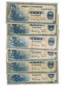 100 Piastres French Indochina