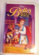 Belle's Magical World VHS