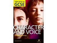 AQA Anthology: Character and Voice- York Notes for GCSE