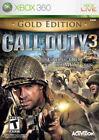 Call of Duty 3 Microsoft Xbox 360 Video Games