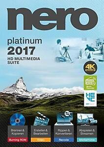 NERO 2017 PLATINUM (ITALIANO) software audio filmati cd dvd video pc Windows - Italia - NERO 2017 PLATINUM (ITALIANO) software audio filmati cd dvd video pc Windows - Italia