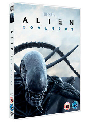 Alien  Covenant Dvd Factory Sealed New Ridley Scott Free Shipping