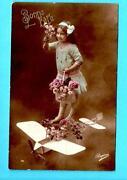 Vintage Flower Postcards