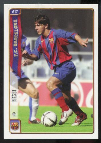 Messi Card Ebay