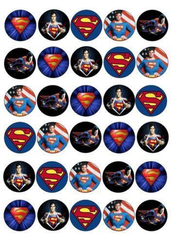 Superman Cake Topper Ebay