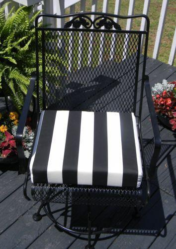 Black And White Striped Cushions Ebay