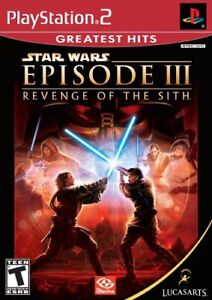 STAR WARS EPISODE III REVENGE OF THE SITH PLAY STATION 2