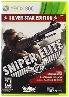 XBOX 360 GAME SNIPER ELITE V2: SILVER STAR EDITION BRAND NEW & FACTORY SEALED