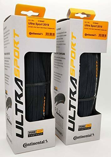 2 Pack - Continental Ultra Sport III 700 23c 25c 28c Road Bike Folding Tires