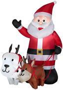 Weihnachtsmann Aufblasbar