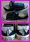 Black Sequin Converse