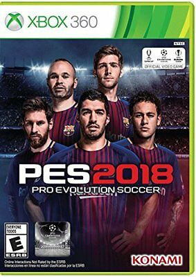 Pro Evolution Soccer PES 2018 (Microsoft Xbox 360, 2017) for sale  Shipping to Nigeria