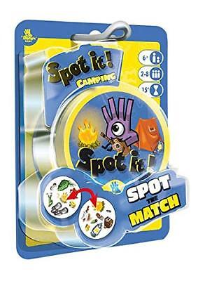 Spot It Games (Spot It! Camping Family Card Game Asmodee Zygomatic Matching Party Blister)