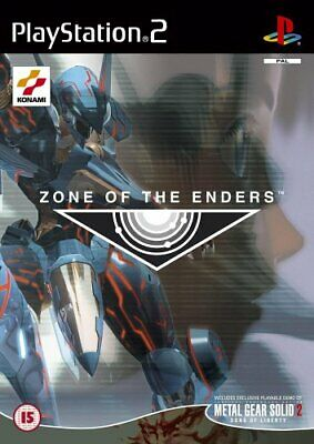 Sony Playstation 2 - Z.O.E.: Zone of the Enders (with Playable M... - Game  94VG