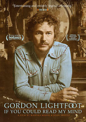 GORDON LIGHTFOOT IF YOU COULD READ MY MIND New Sealed DVD
