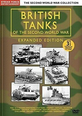 BRITISH TANKS OF THE SECOND WORLD WAR EXPANDED EDITION [DVD][Region 2]
