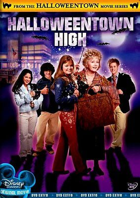 Disney Channel Sequel Halloweentown High Fun Bewitching Halloween Movie on DVD