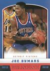 Panini Joe Dumars NBA Basketball Trading Cards