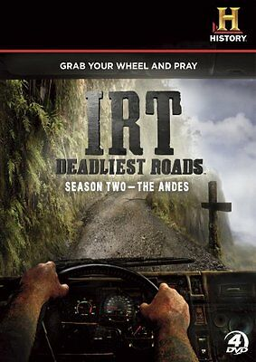 IRT ICE ROAD TRUCKERS DEADLIEST ROADS SEASON 2 THE ANDES New Sealed 4 DVD Set