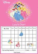 Disney Princess Reward Chart