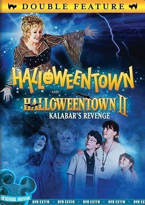 HALLOWEENTOWN I + II KALABAR'S REVENGE DVD Set 2 Movies Disney Magic Kids Film 1 - Films Halloween Disney