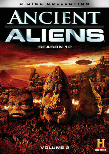 Ancient Aliens: Season 12 Volume 2 [new Dvd] 2 Pack, Dolby, Widescreen