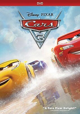Cars 3 Dvd Disney Pixar   Ships Within 1 Business Day With Tracking