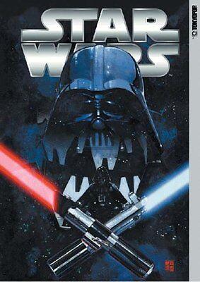 "STAR WARS x Manga ""Silver"" Japanese Anthology Manga Collection w/Poster"