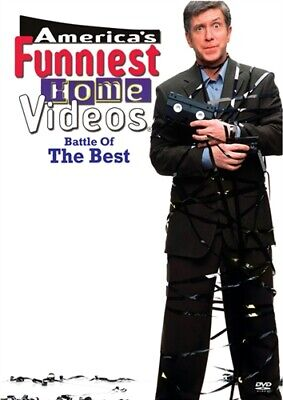 AMERICA'S FUNNIEST HOME VIDEOS BATTLE OF THE BEST New Sealed DVD