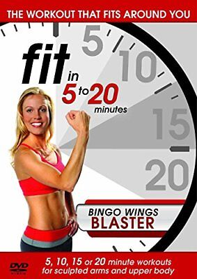 Fit in 5 to 20 Minutes - Bingo Wings Blaster [DVD][Region 2] - Fitness Bingo