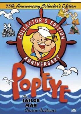 Popeye - Popeye the Sailor Man Classics [New DVD] Anniversary Edition, Collector Popeye The Sailor Man Dvd
