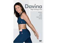 Davina excercise DVD box sets (4 DVDs total)